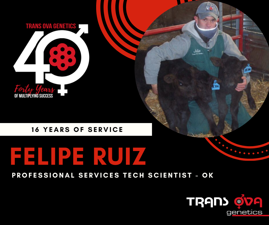 40th Anniversary Spotlight – Felipe Ruiz