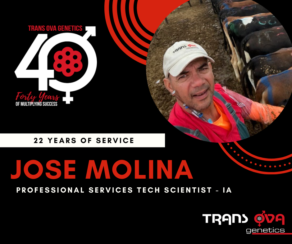 40th Anniversary Spotlight – Jose Molina