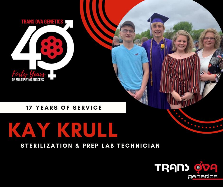40th Anniversary Spotlight – Kay Krull