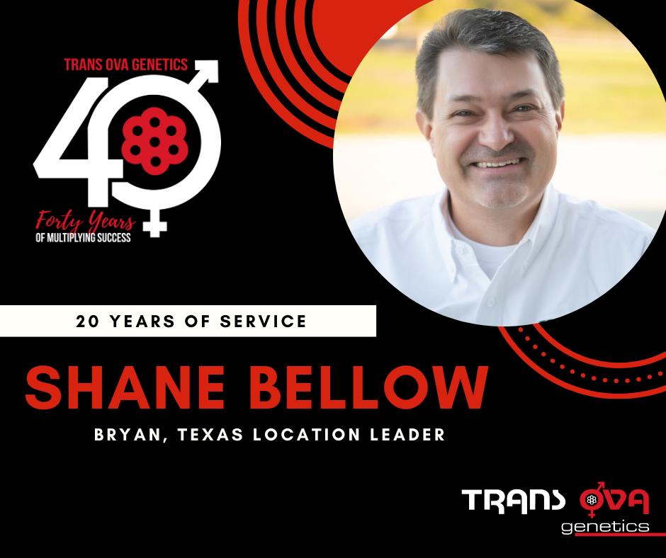40th Anniversary Spotlight – Shane Bellow