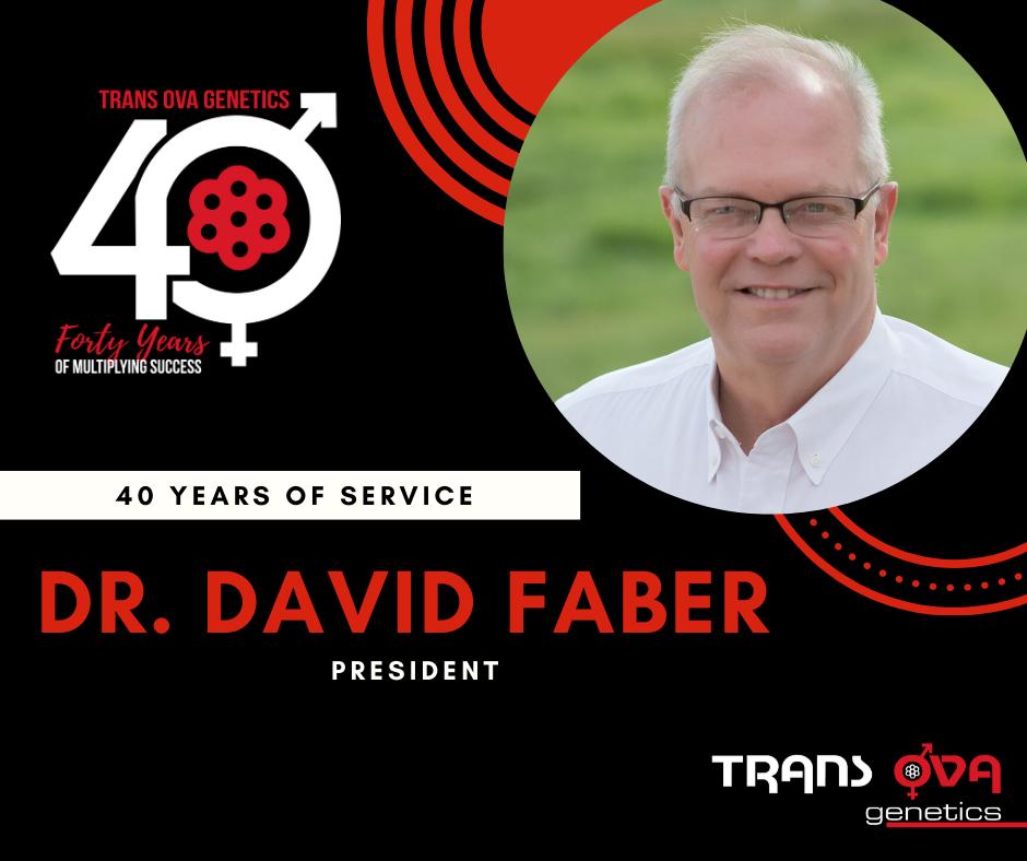 40th Anniversary Spotlight – Dr. David Faber