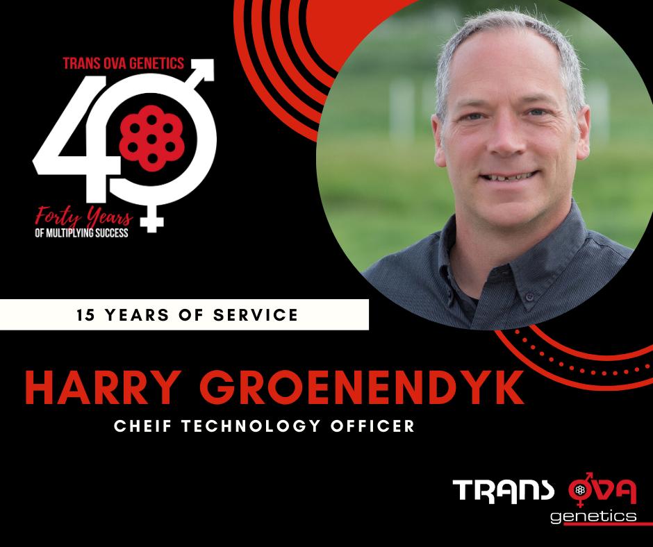 40th Anniversary Spotlight – Harry Groenendyk