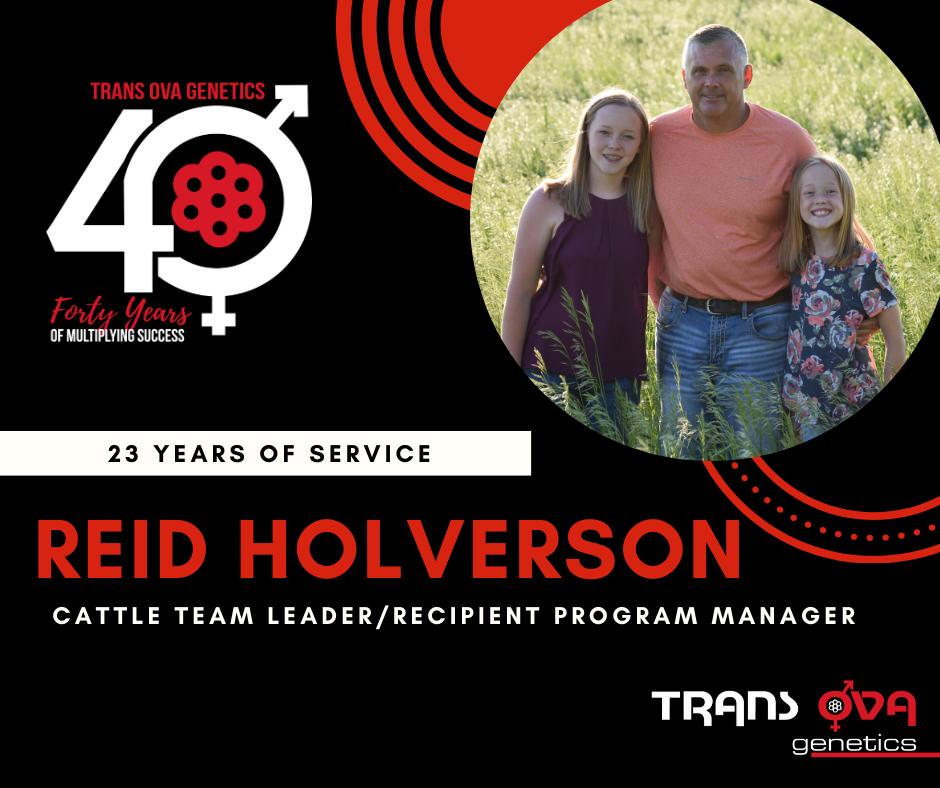 40th Anniversary Spotlight – Reid Holverson