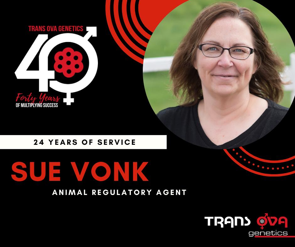 40th Anniversary Spotlight – Sue Vonk